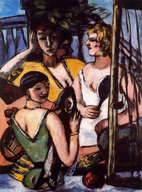 The Three Sisters - Max Beckmann