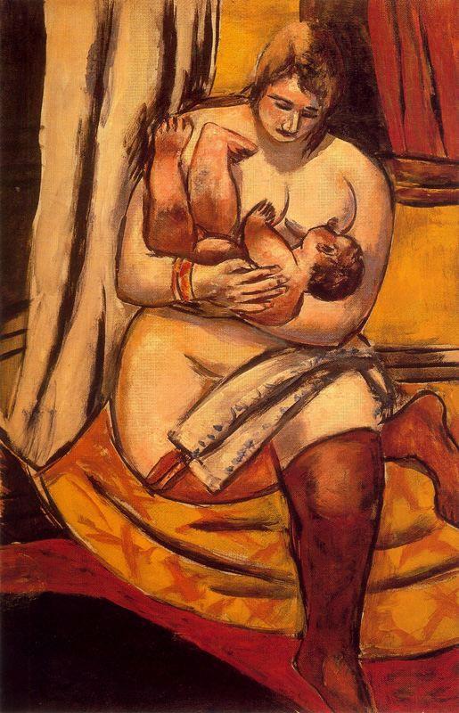 Motherhood - Max Beckmann