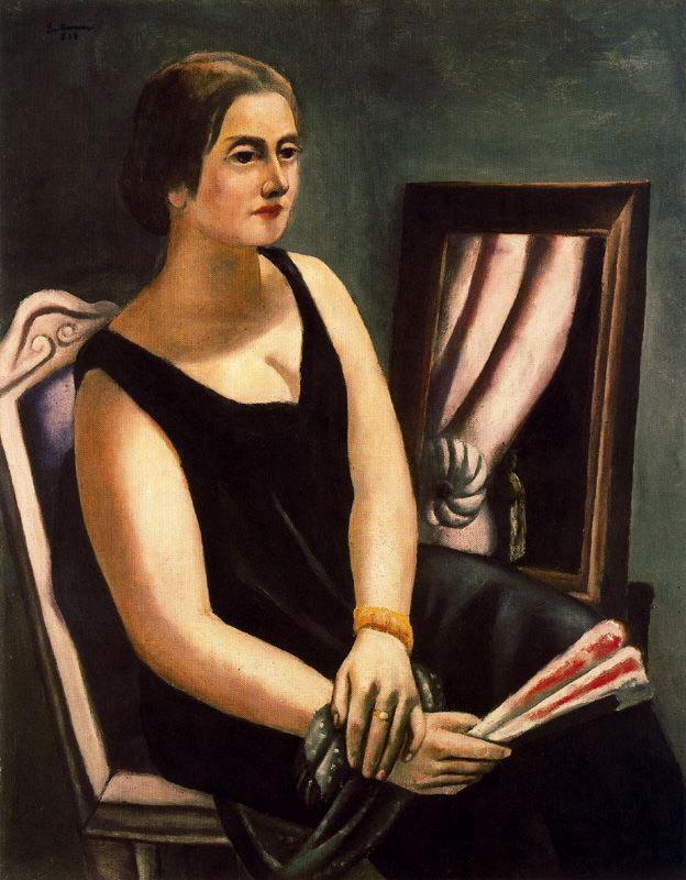 Portrait of Minna Beckmann-Tube - Max Beckmann