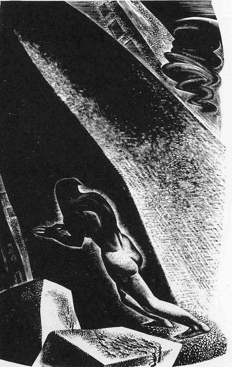 Song Without Words, Plate 12 - Lynd Ward