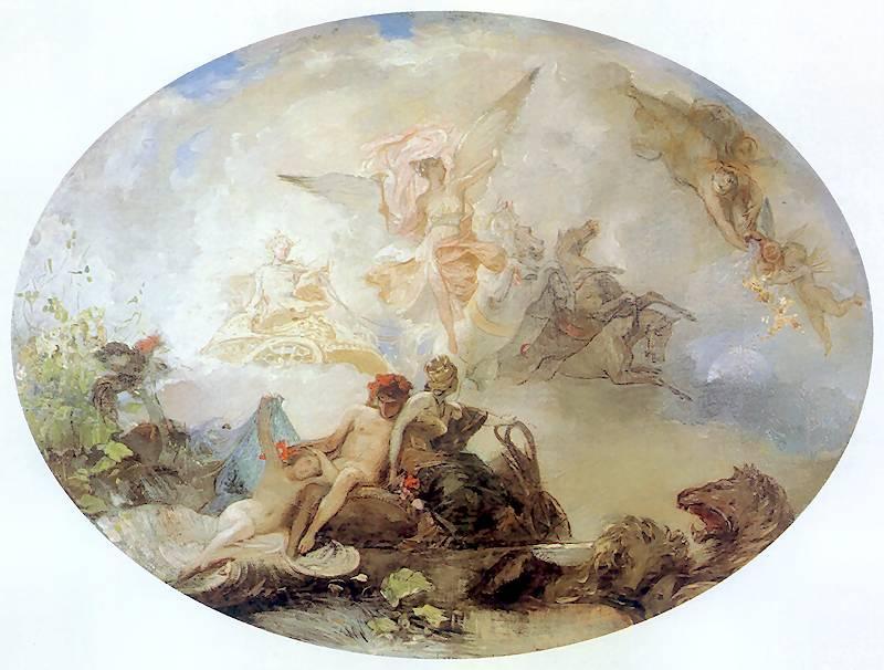 Plafon Jutrzenka - Henryk Siemiradzki