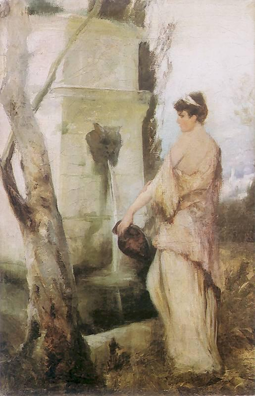 At the well - Henryk Siemiradzki