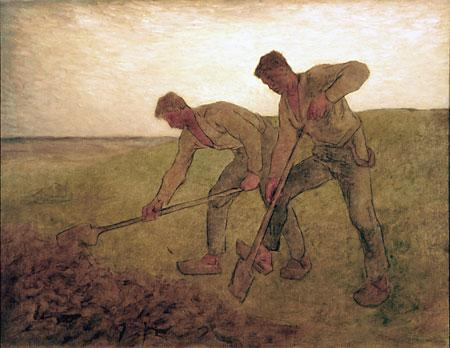 The Diggers - Jean-Francois Millet