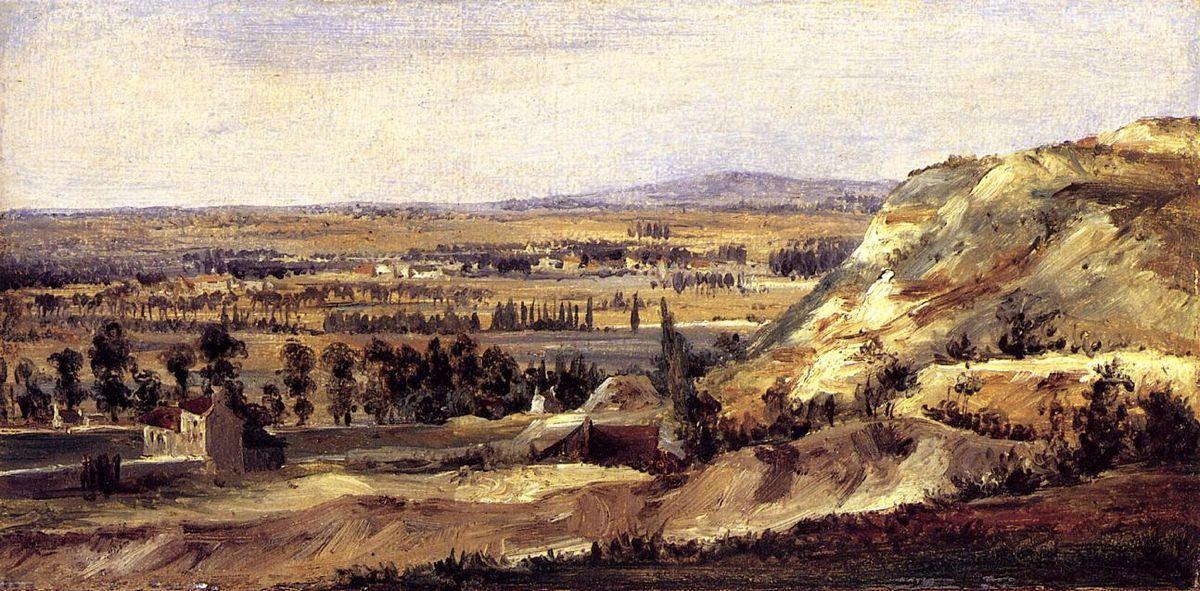 Panoramic landscape - Theodore Rousseau
