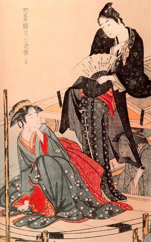 Stylish Amusements of the Four Seasons - Kitagawa Utamaro