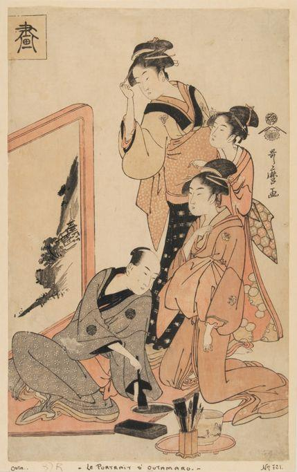 The four virtues - Kitagawa Utamaro