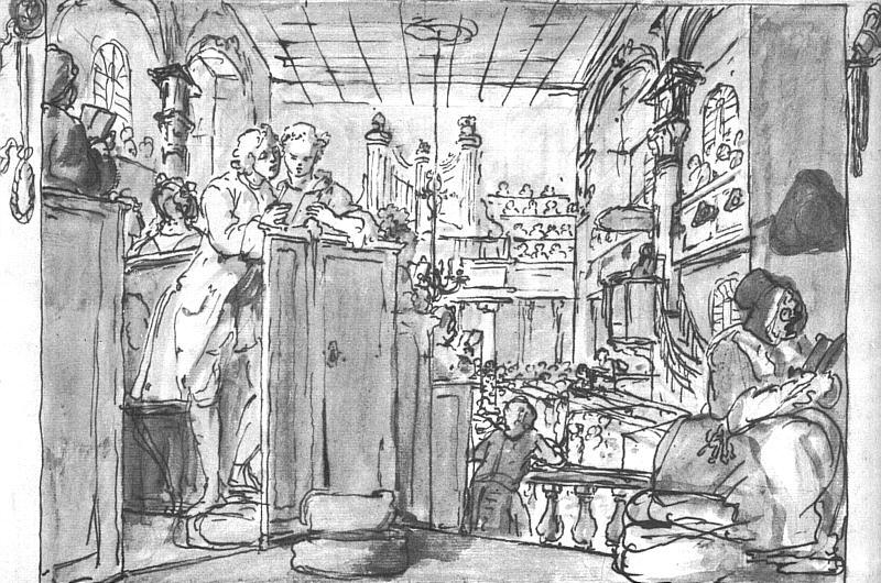 Industrious 'Prentice Performing Duties of Christian - William Hogarth