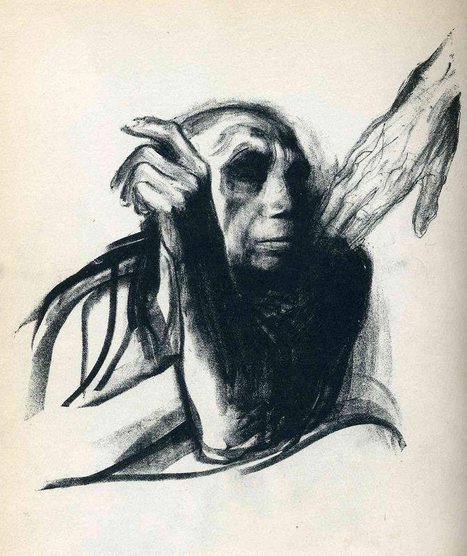 Call of Death - Kathe Kollwitz