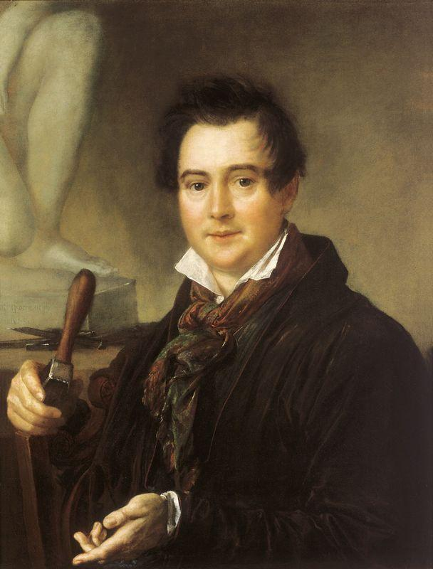Portrait of Ivan Vitali - Vasily Tropinin