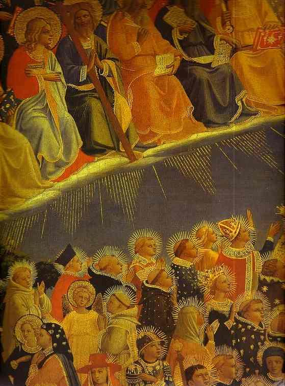 The Last Judgement. Detail: The Blessed - Fra Angelico