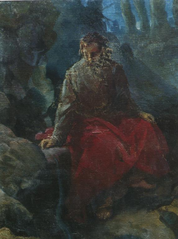 The Temptation of Christ - Nikolai Ge