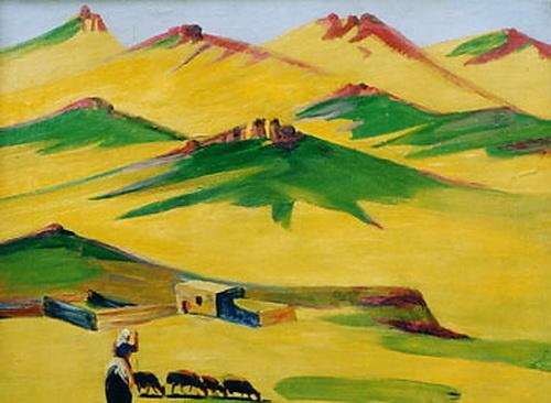 Notable day in the mountains - Martiros Saryan