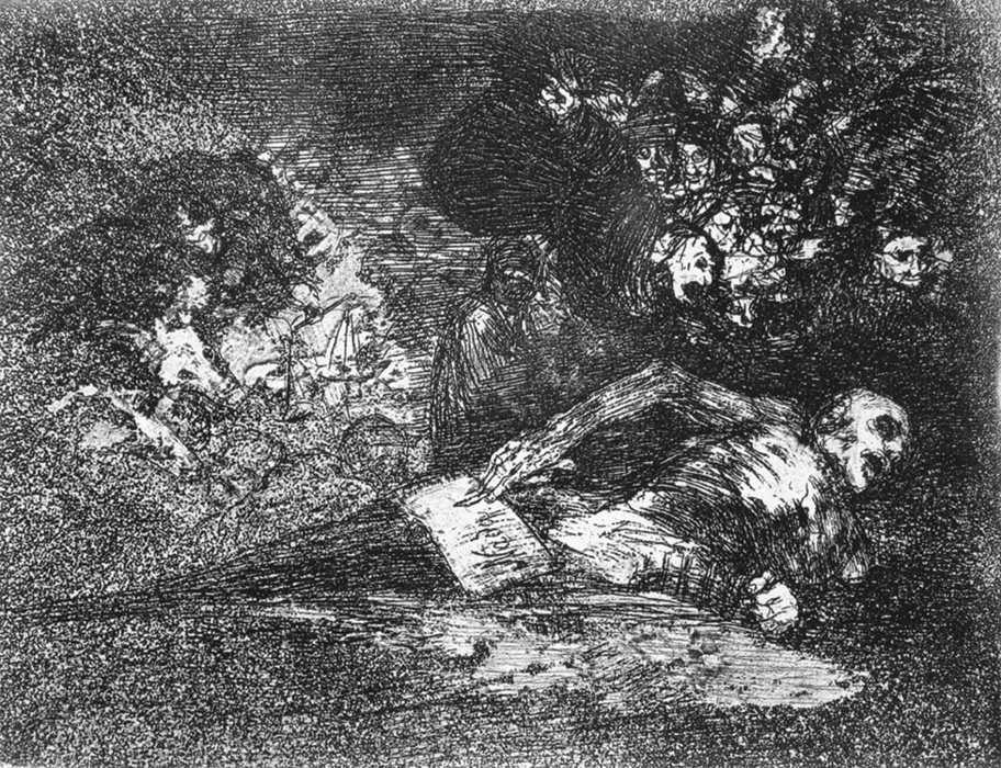 Nothing. The event will tell - Francisco Goya