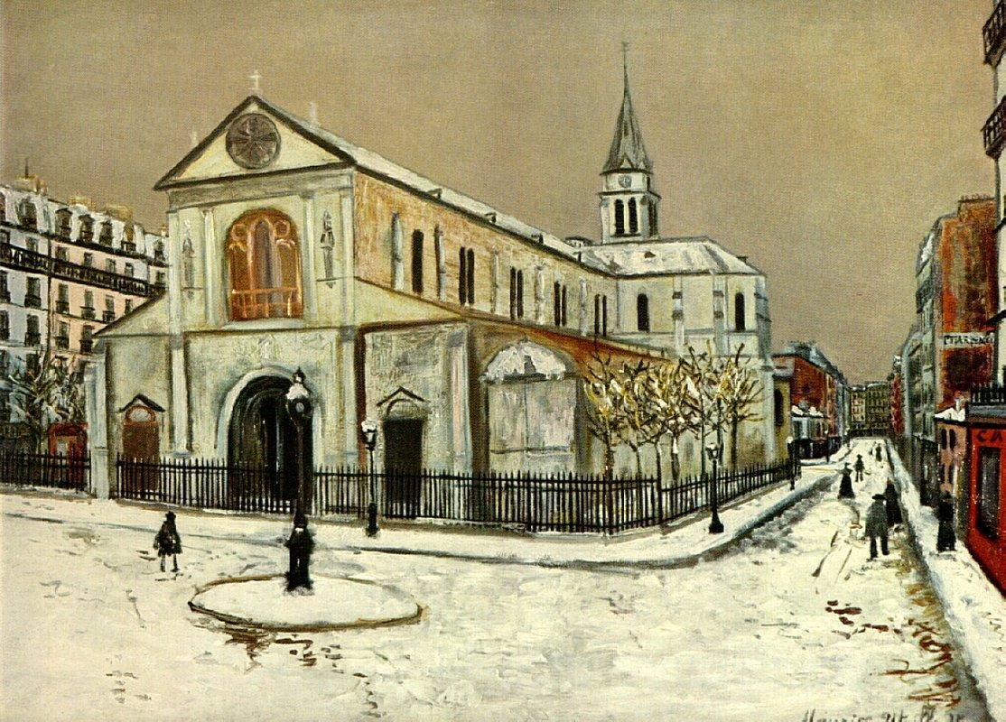 Notre-Dame de Clignantcourt - Maurice Utrillo