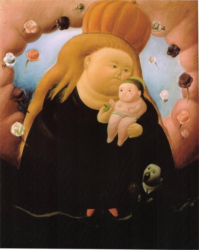 Notre Dame de New York - Fernando Botero