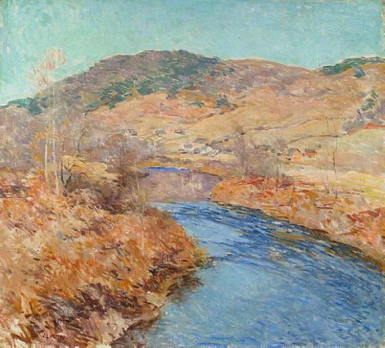 November Morning - Willard Metcalf