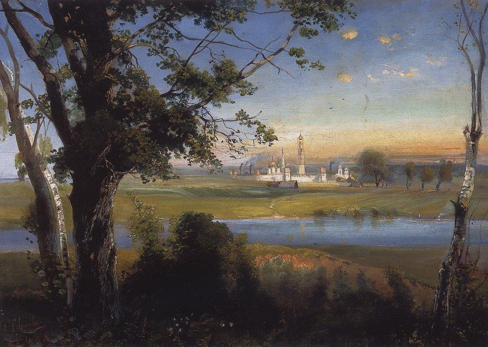 Novodevichy Convent - Aleksey Savrasov