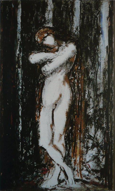 Nu. Draft - Gustave Moreau