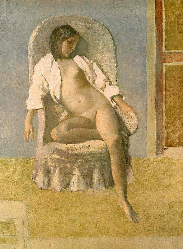 Nude at Rest - Balthus