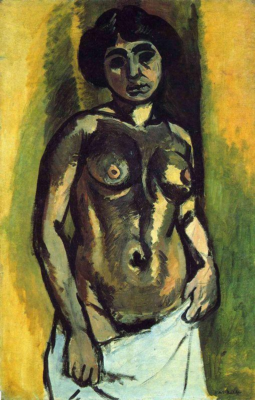 Nude (Black and Gold) - Henri Matisse