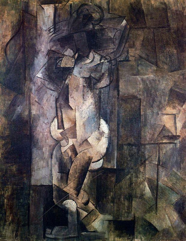 Nude figure - Pablo Picasso