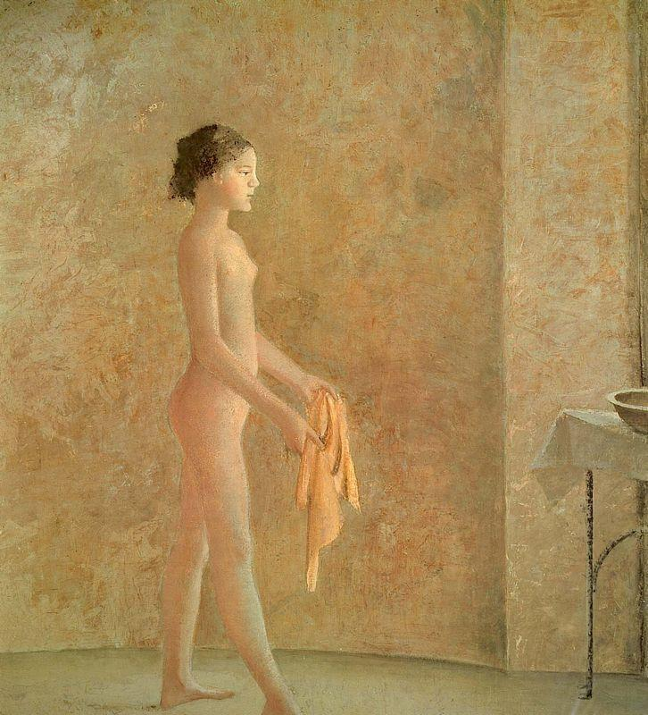 Nude in Profile - Balthus