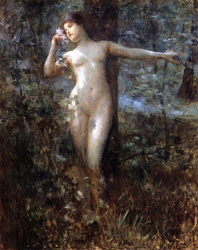 Nude in the Forest - Julius LeBlanc Stewart