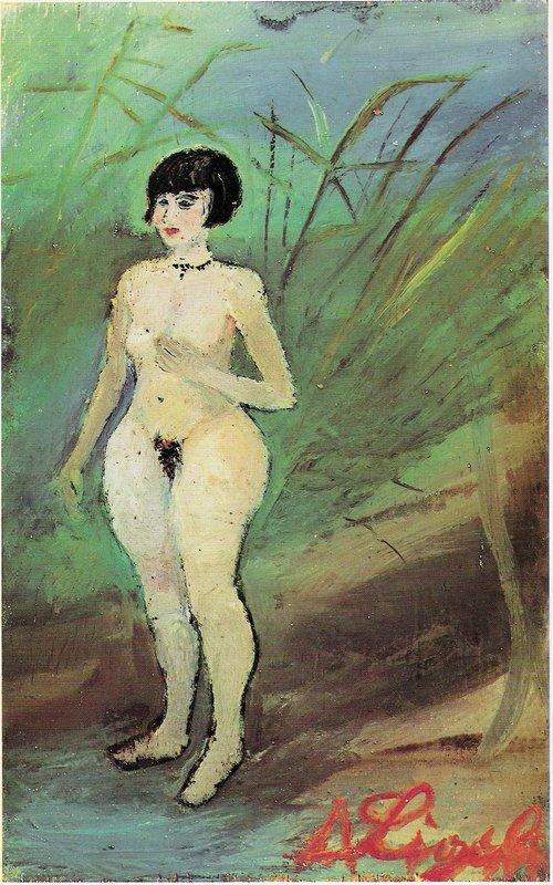 Nude of woman - Antonio Ligabue