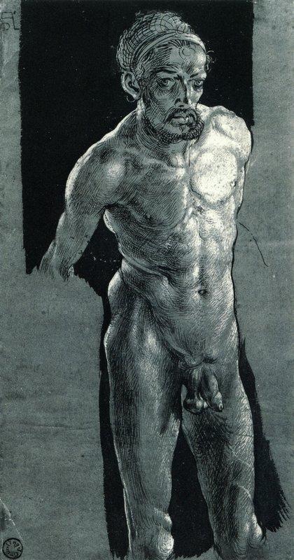 Nude Sel-portrait - Albrecht Durer