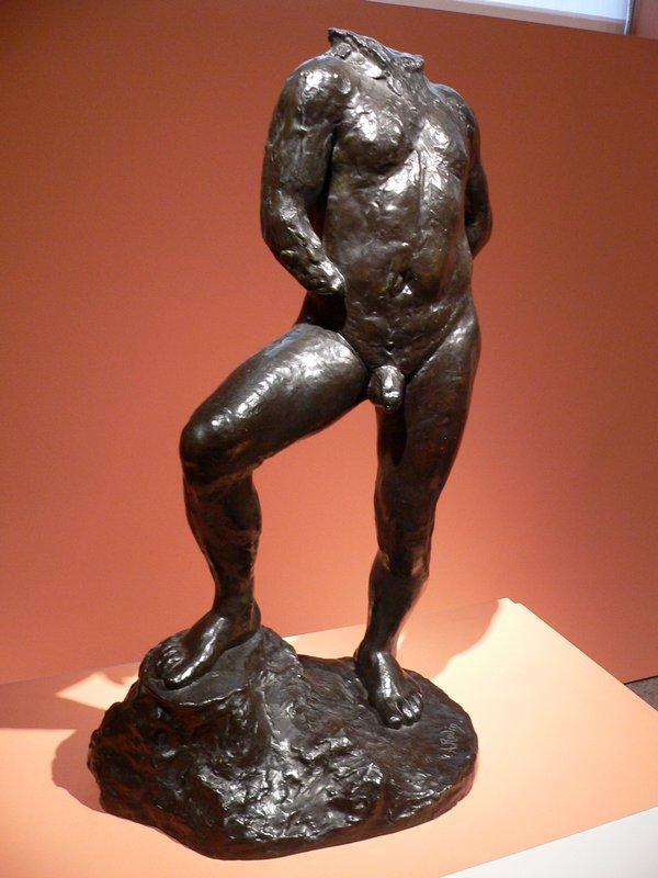 Nude study for Balzac - Auguste Rodin