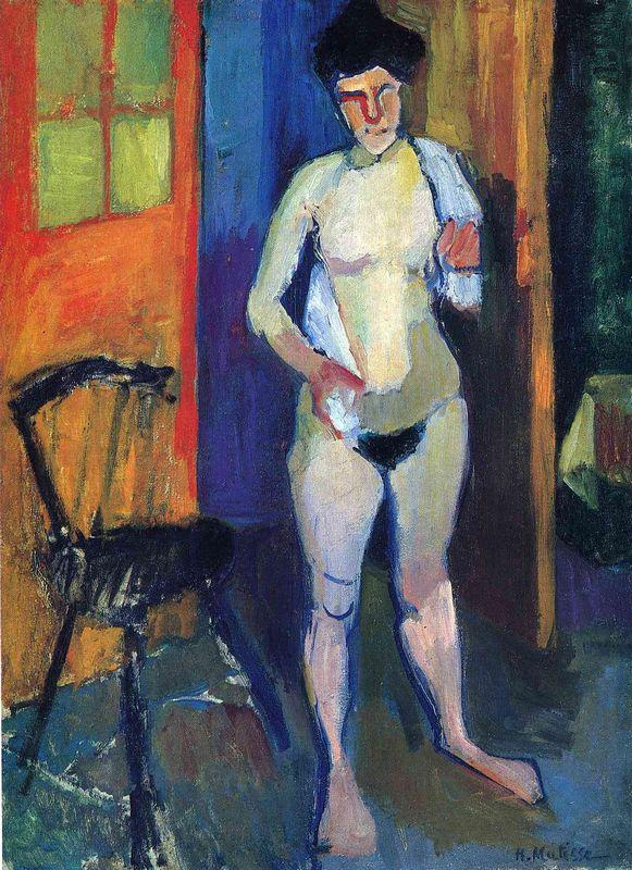 Nude with a White Towel - Henri Matisse