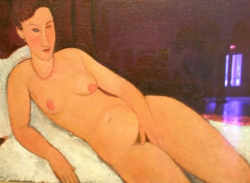 Nude with Coral Necklace - Amedeo Modigliani
