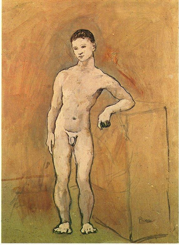 Nude Youth - Pablo Picasso