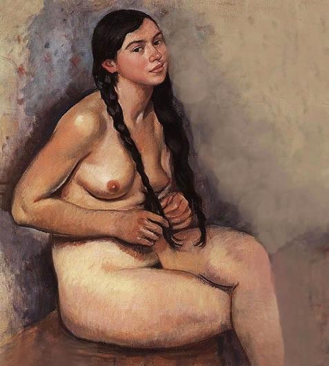 Nude - Zinaida Serebriakova