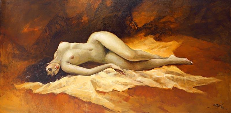 Nudity - Basuki Abdullah