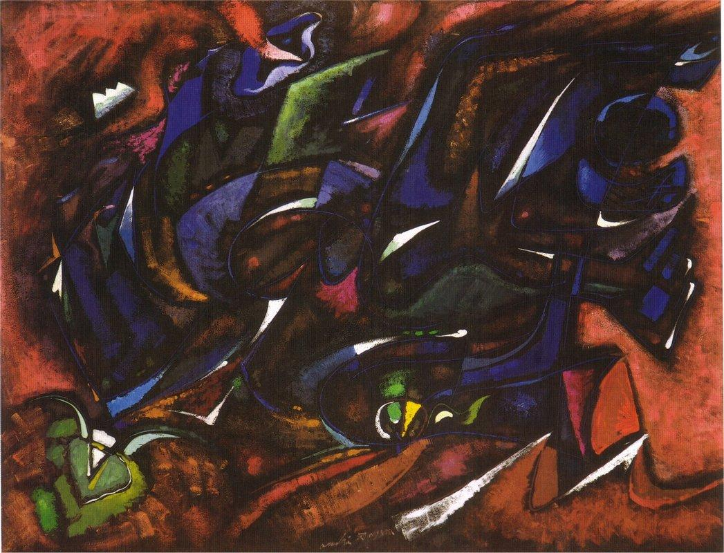 Nuit fertile - Andre Masson
