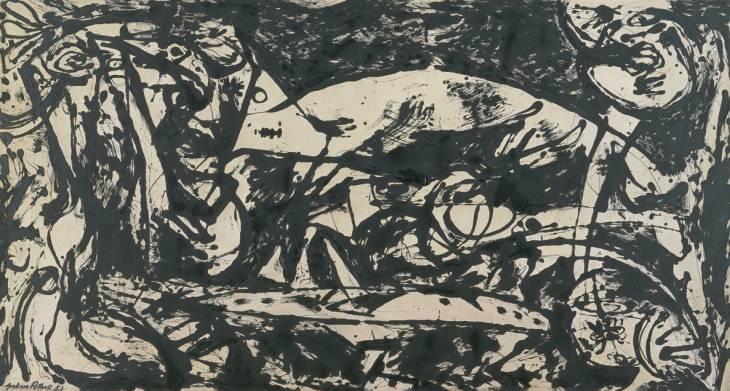 Number 14 - Jackson Pollock