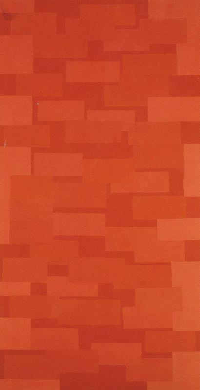 Number 5 (Red Wall) - Ad Reinhardt
