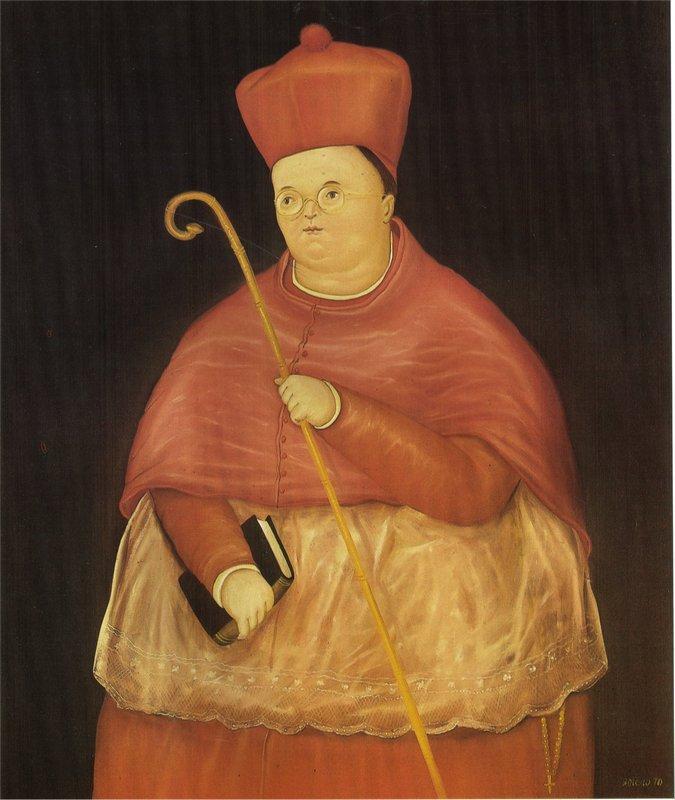 Nuncio - Fernando Botero