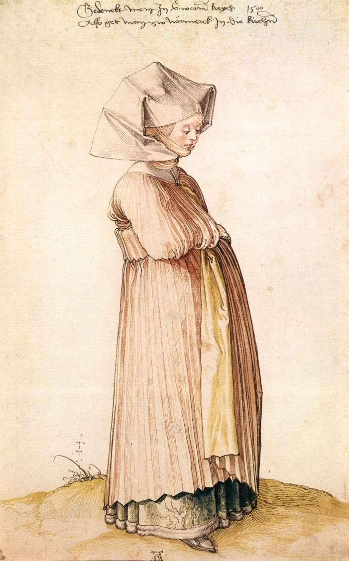 Nuremberg Woman Dressed for Church - Albrecht Durer