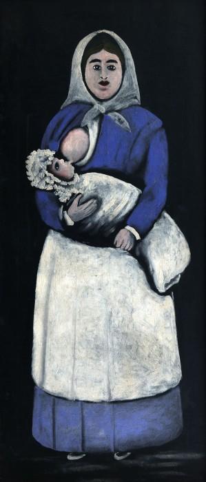 Nurse - Niko Pirosmani