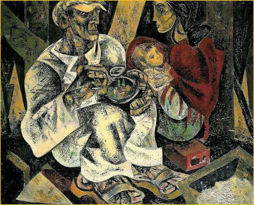 O Almoco do Trolha - Julio Pomar