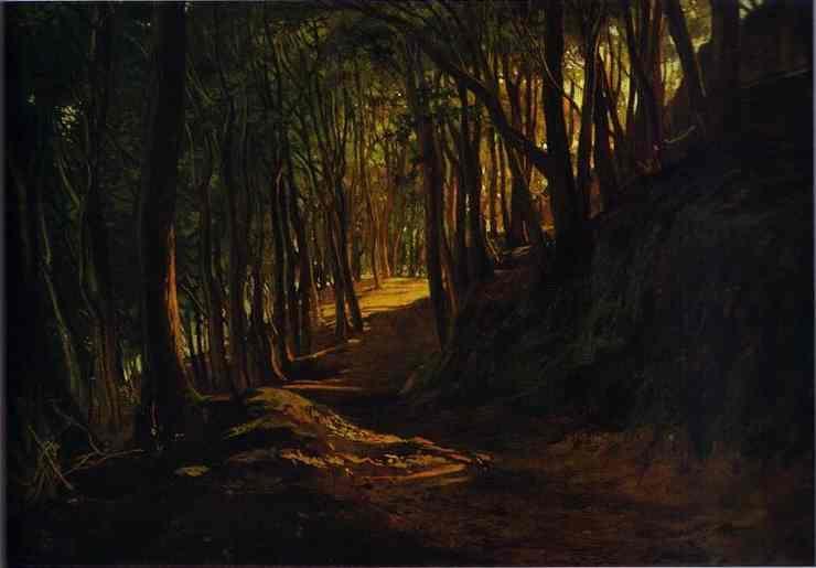 Oak Grove at San Terenzo - Nikolai Ge