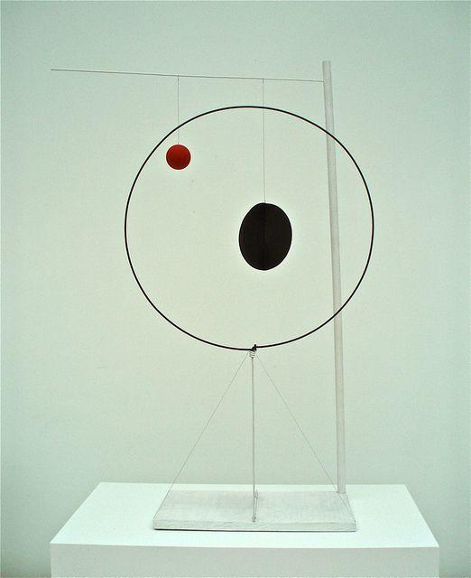 Object with Red Ball - Alexander Calder