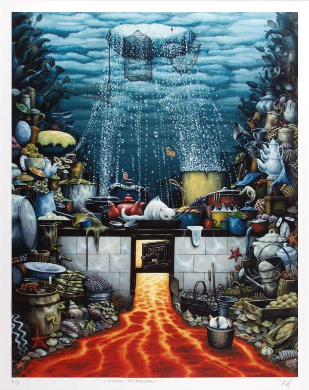 Oceanic Kitchen  - Jacek Yerka