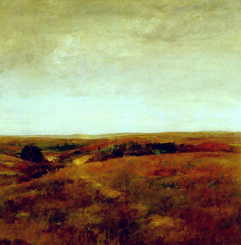 October - William Merritt Chase