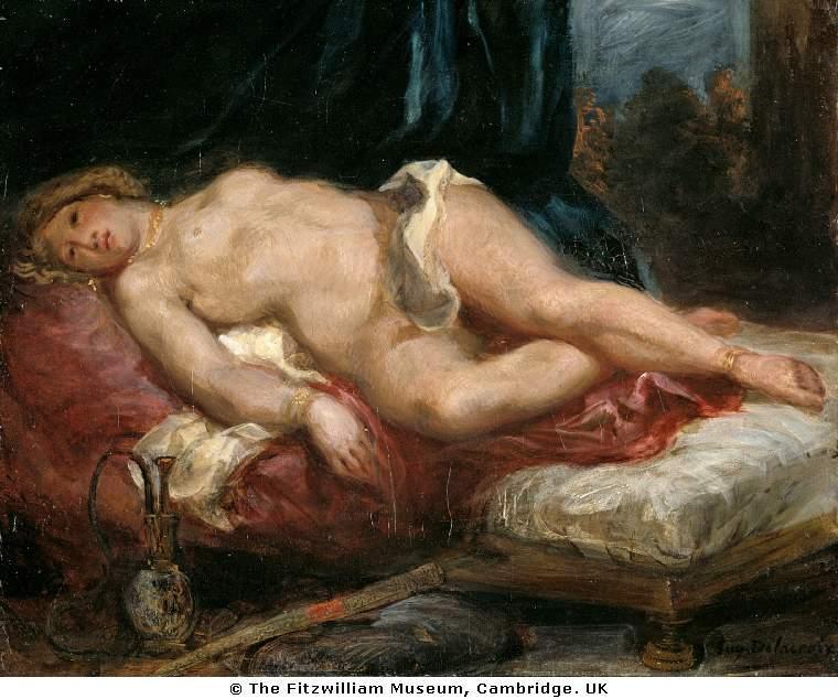 Odalisque - Eugene Delacroix