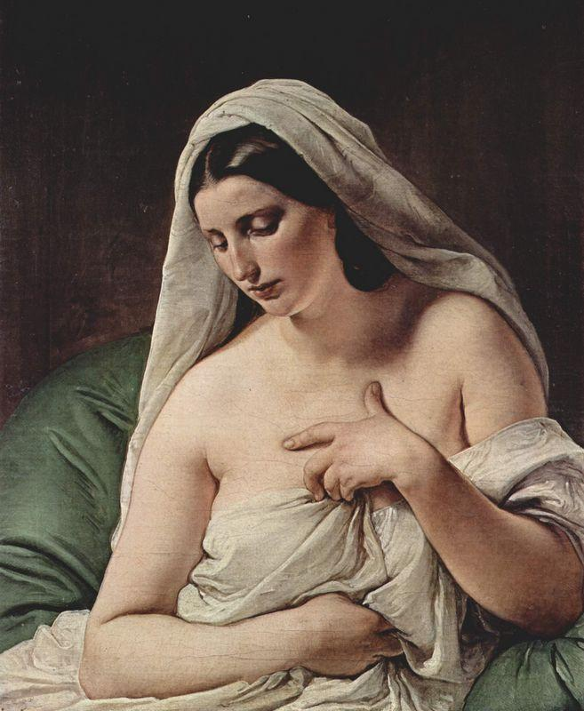 Odalisque - Francesco Hayez