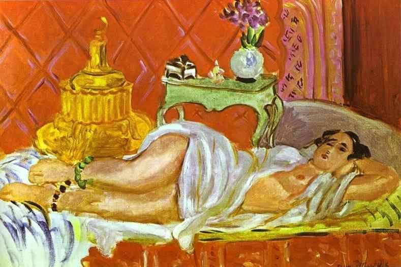 Odalisque, Harmony in Red - Henri Matisse