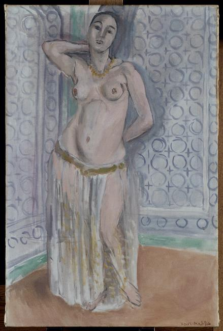 Odalisque in blue or white slave - Henri Matisse